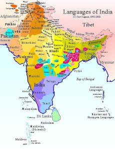 Languages in Indian subcontinent