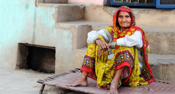 Old Woman India