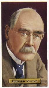 Rudyard Kipling -  Indian-born British writer.