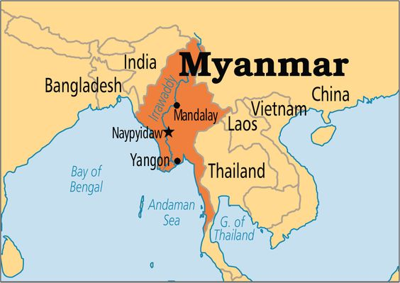 mandalay in Myanmar