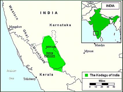 Kodava in India