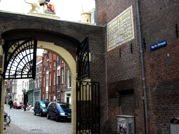 Nasir Kazmi's Poem on Leiden's wall