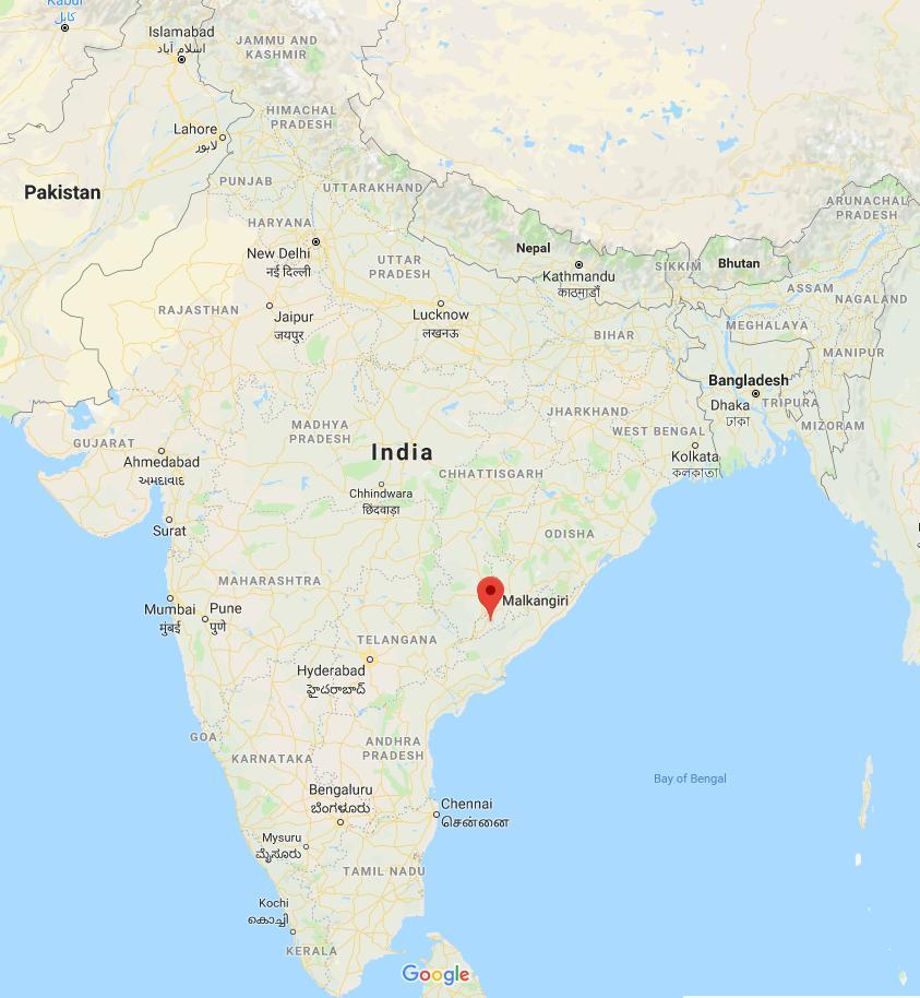 Gta Language area. Google Maps image.